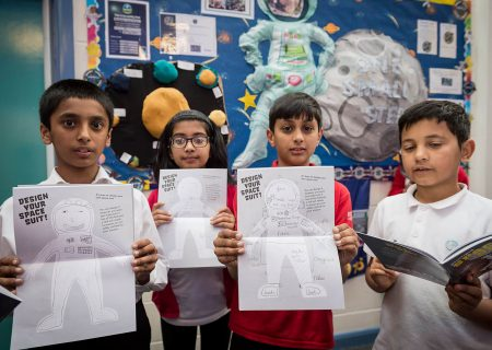 Students show off their Principia Space Diary